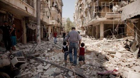 Paura ad Aleppo, bombardato un ospedale pediatrico