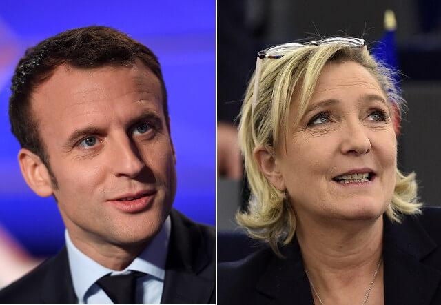 Elezioni presidenziali in Francia, Macron e Le Pen al secondo turno