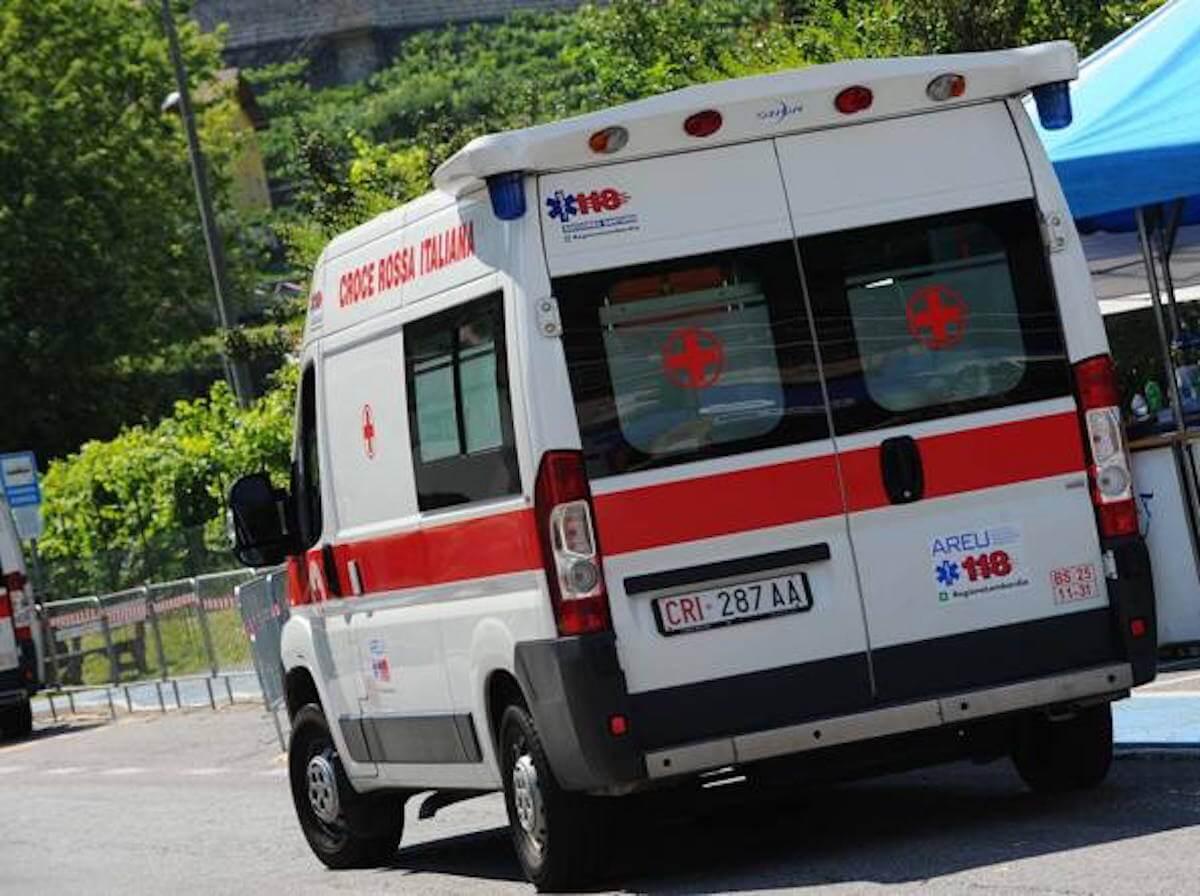 ambulanza bambino morto cardito