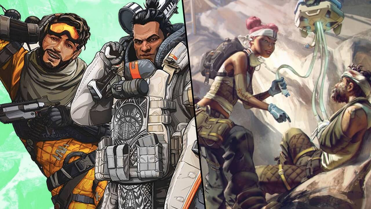 Apex Legends sfida Fortnite